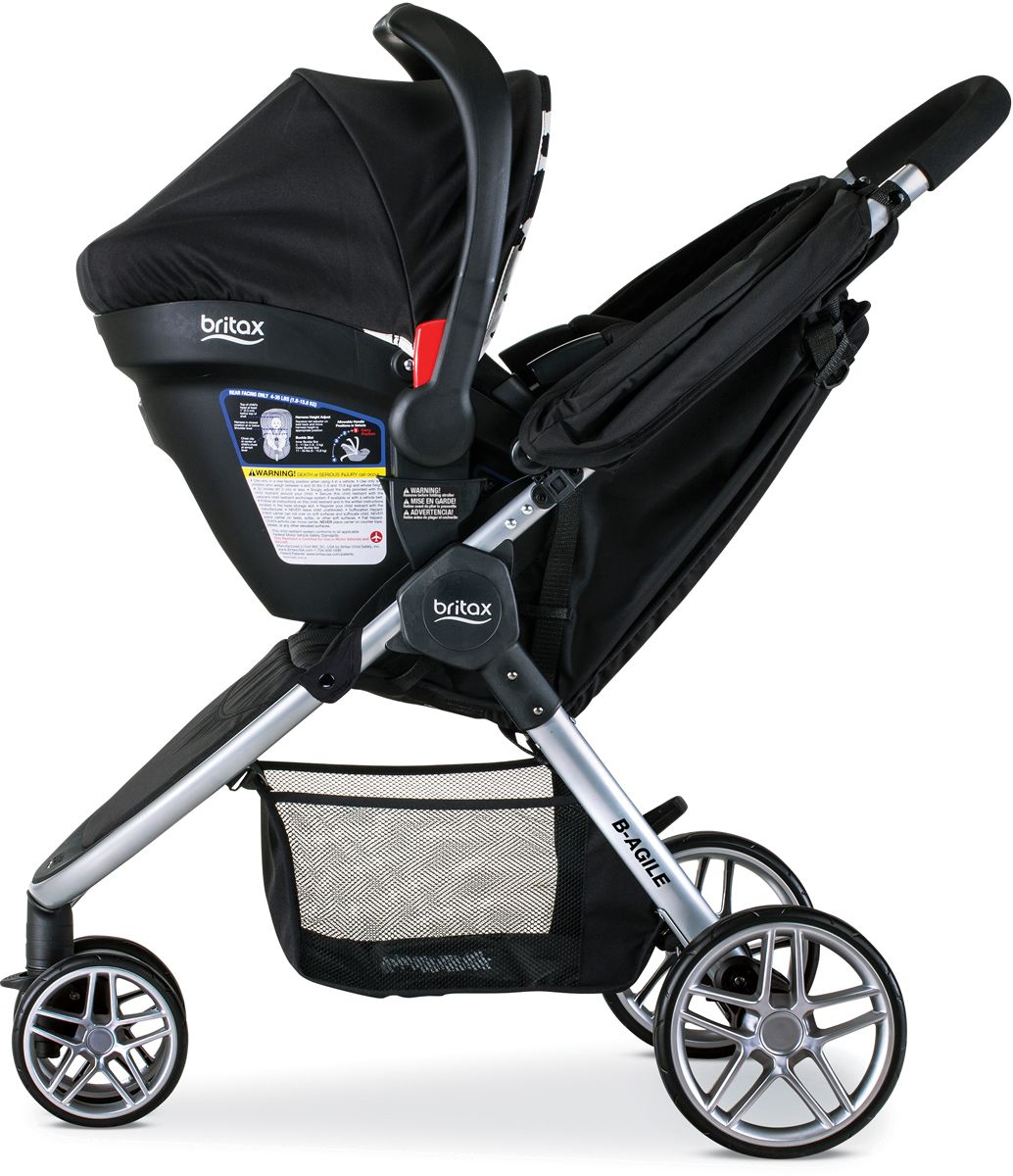 Britax BAgile 3 & BSafe 35 Elite Travel System