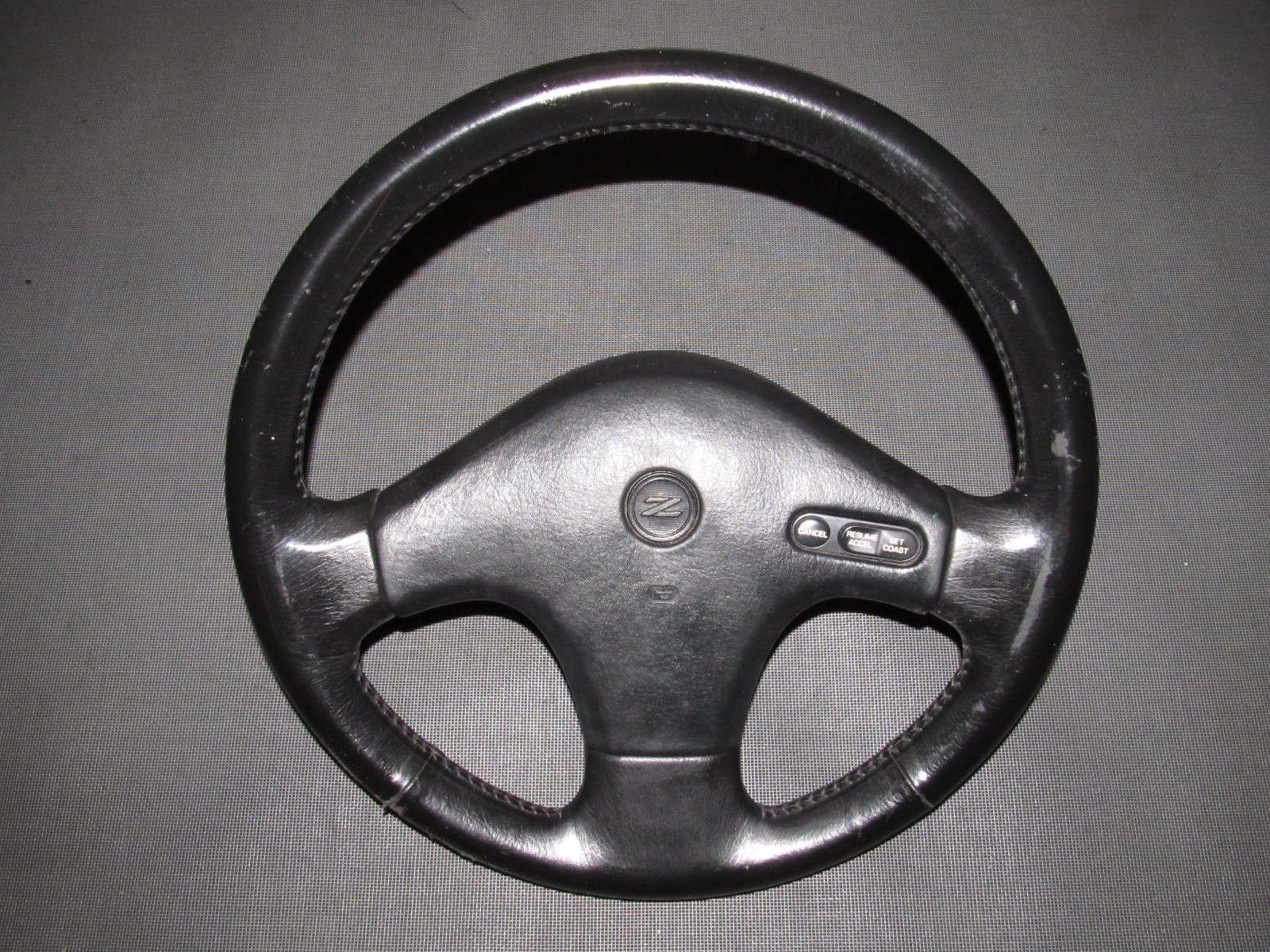 90 91 92 93 94 95 96 Nissan 300zx OEM Black Steering Wheel