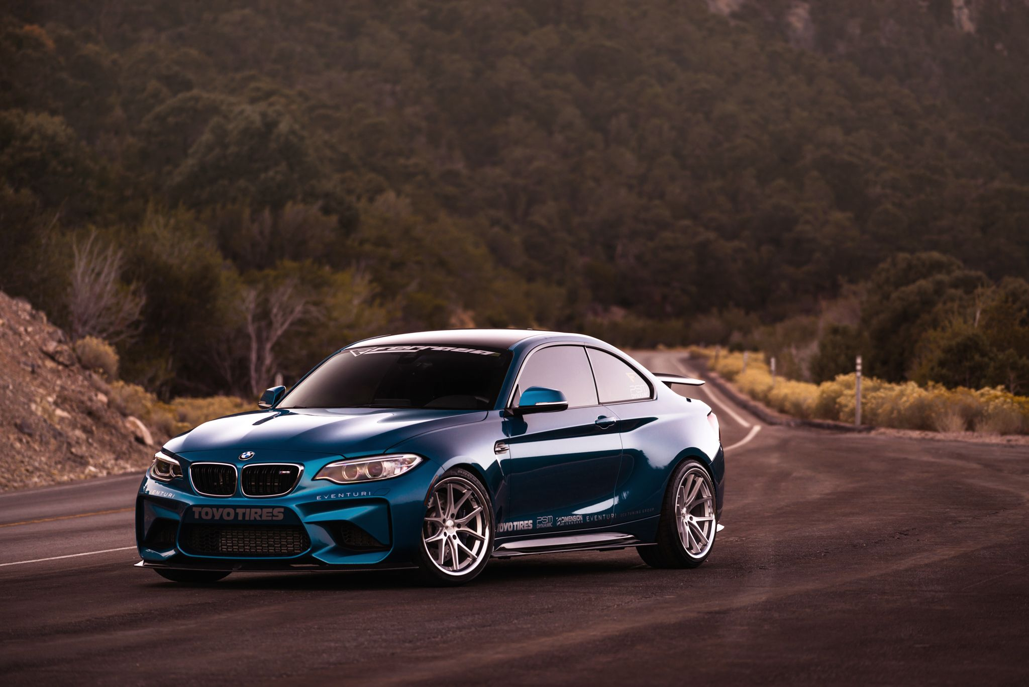 2017 BMW M2 On 19 inch Ferrada FR2 Wheels in Machine ...
