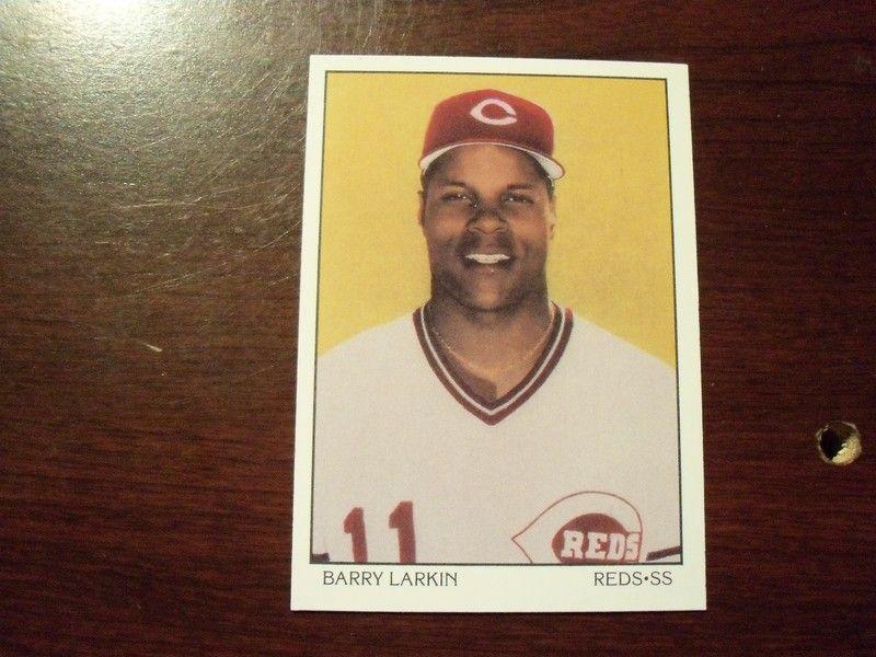 1990 score dream team barry larkin barry larkin larkin