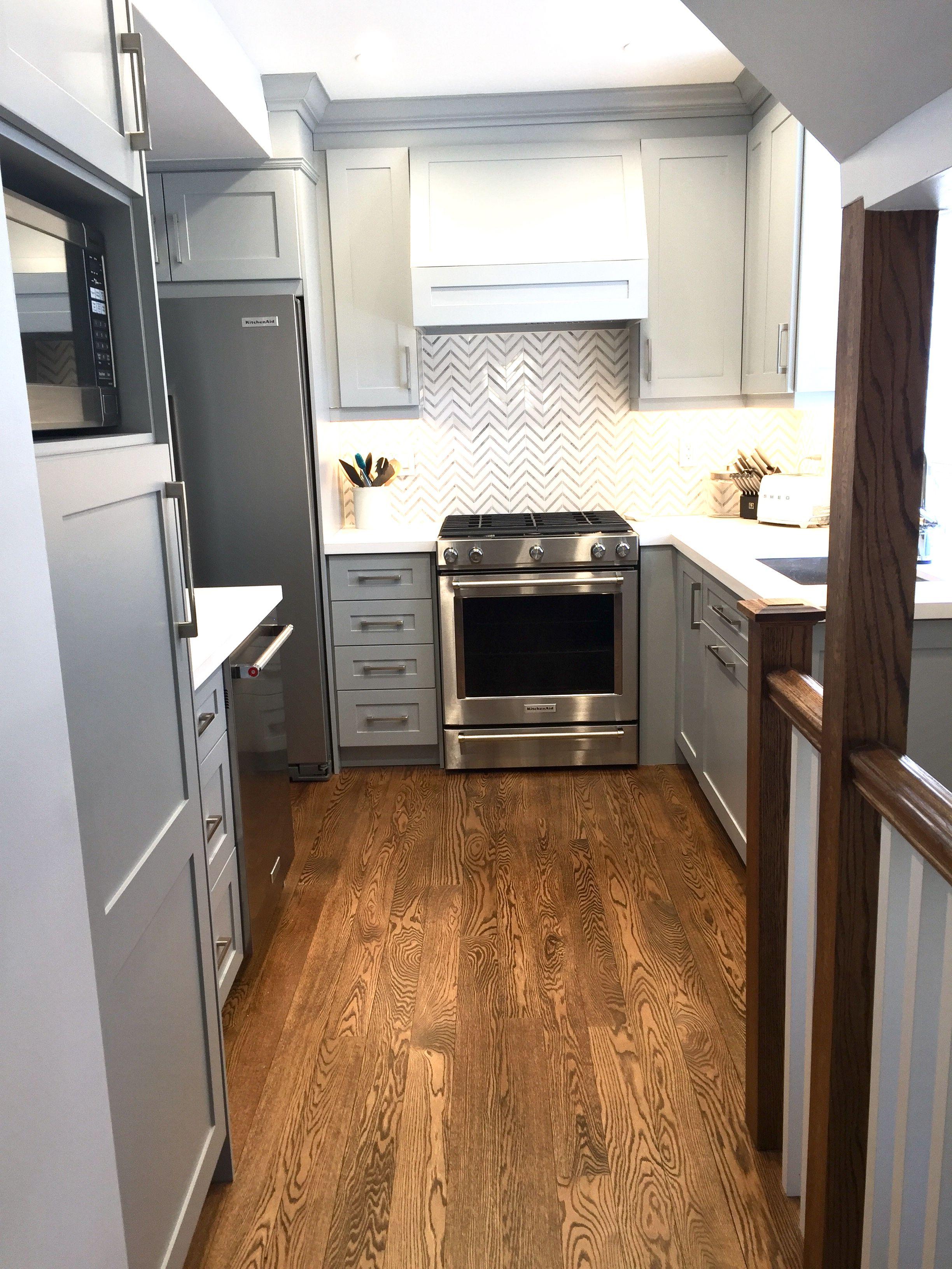 Kitchen Renovation   Red oak floors, Kitchen remodeling projects ...