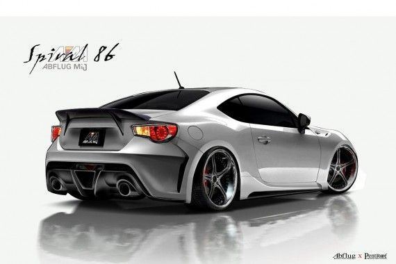 Scion Fr S Supercharger Package By Abflug Toyota Toyota 86 Toyota Gt86
