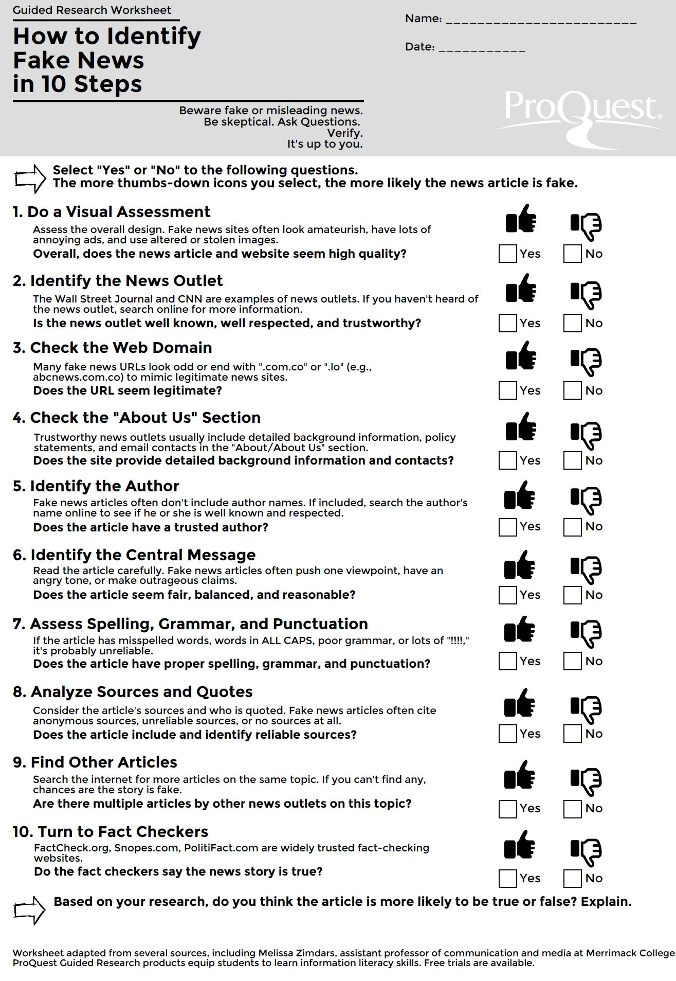 Share This Blog Archive How To Identify Fake News In 10 Steps