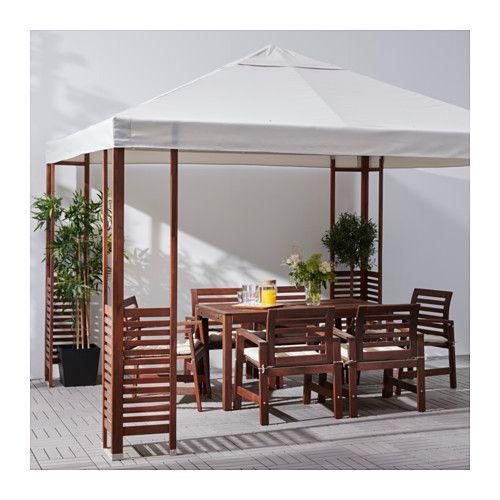 pplar pavillon brun hvid beige id er til huset pinterest haveideer. Black Bedroom Furniture Sets. Home Design Ideas