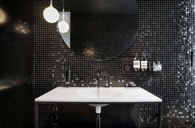La déco noir et blanc crée des contrastes dans l\'intérieur | Idées ...