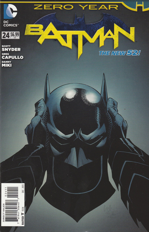 DC The New 52  Batman #24   Regular Cover