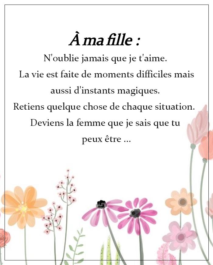 Citation Ma Fille Je T Aime : citation, fille, Épinglé, Citations, Proverbes