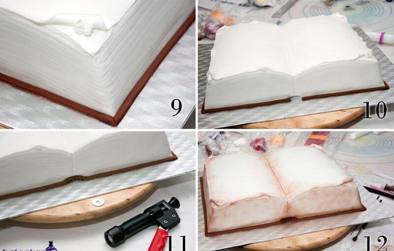торт книжка своими руками с пошаговым фото записи
