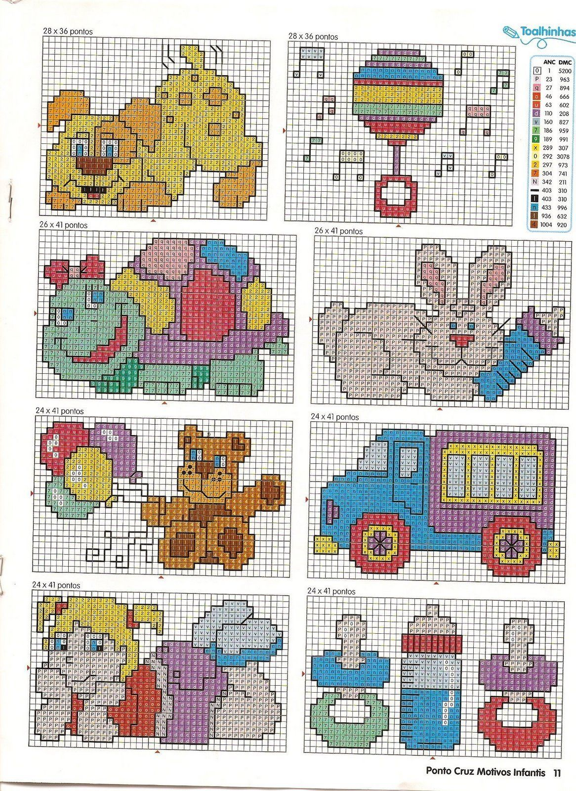 Schema punto croce idee infantili 93 cross stitch small for Idee punto croce bimbi