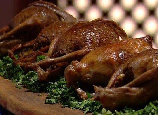 حمام محشي فريك بطريقة سارة عبد السلام مطبخ السنافر Recipes Food Chicken