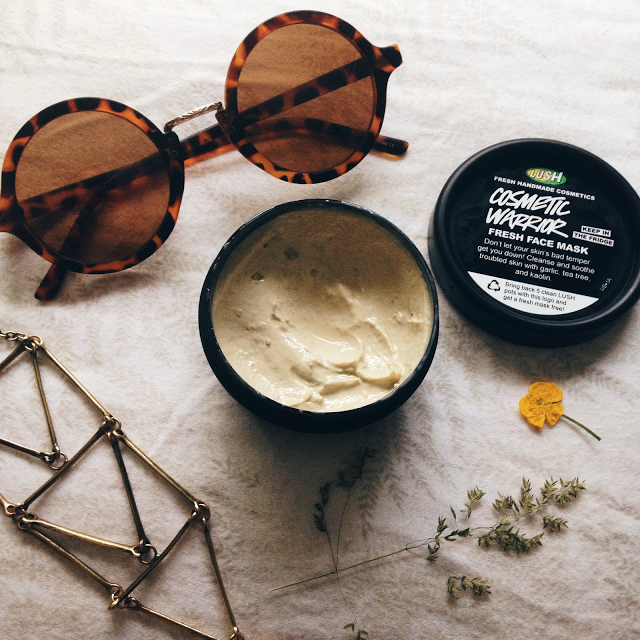 Review Lush Cosmetic Warrior Fresh Face Mask Lush Cosmetic Warrior Cosmetic Warrior Fresh Face Mask