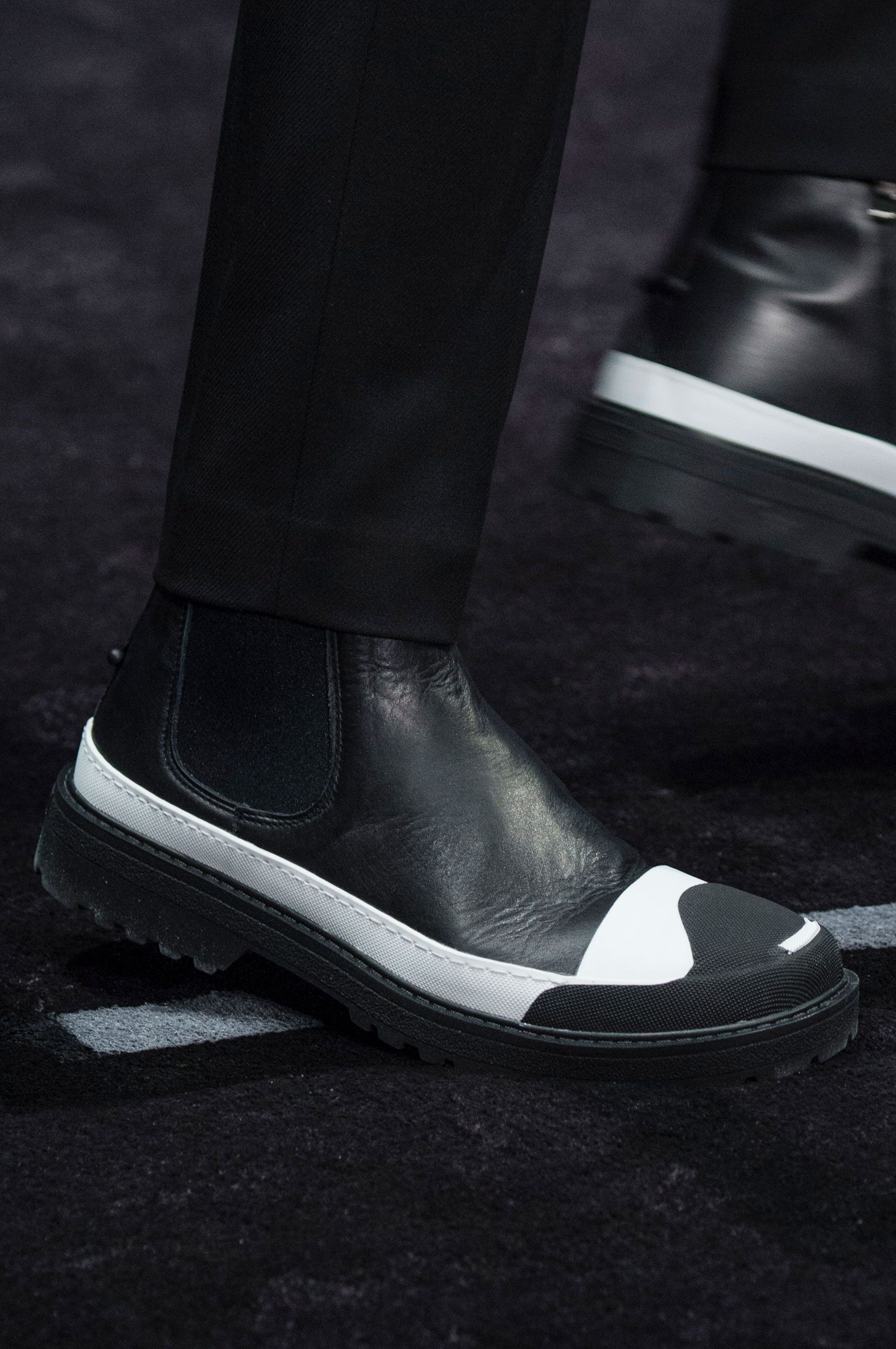 Neil Barrett Fall 2018 Men s Fashion Show Details   SNEAKS   BOOTS ... cc66b191a053