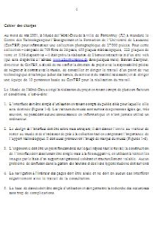 Exemple De Projet Informatique Rediger Exemple De Cahier De