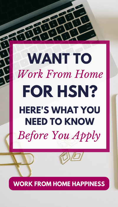 Here S How You Can Work From Home For Hsn Work From Home Jobs Working From Home Work From Home Tips