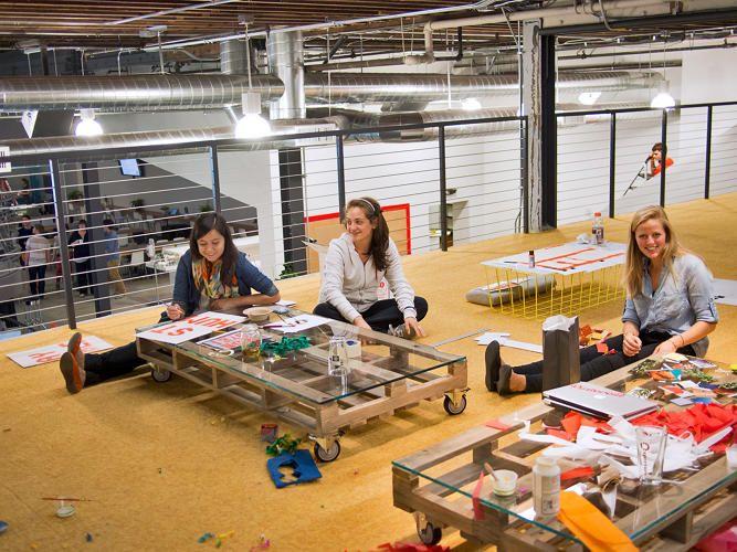 inspiring innovative office. Inspiration From Pinterest For Offices That Stir Creativity Inspiring Innovative Office A