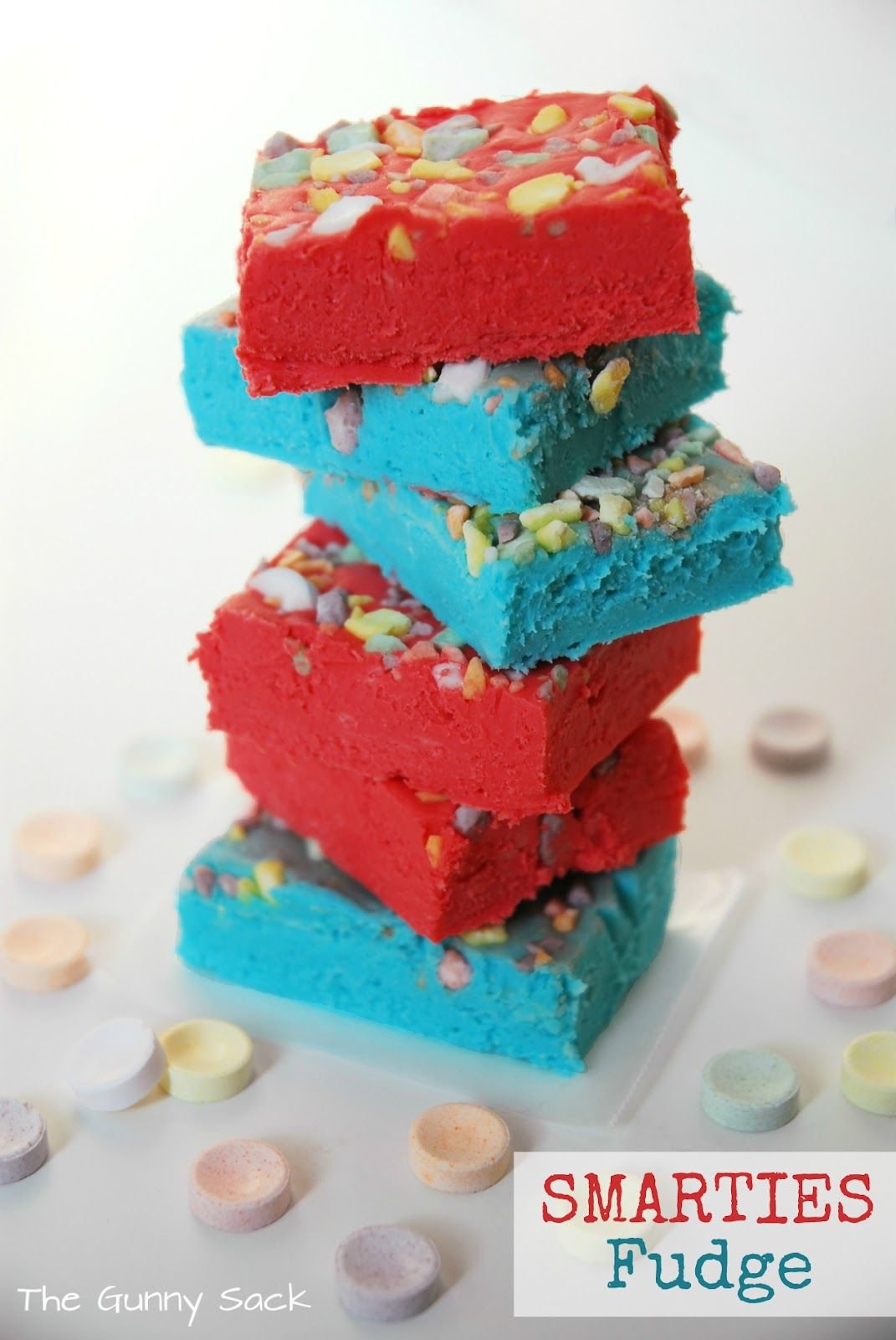 The Gunny Sack: {4th of July} Smarties Fudge & A Sweet Giveaway #IAmASmartie