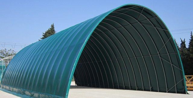 Tunnel de stockage tunnel agricole abri de stockage for Abri de stockage agricole