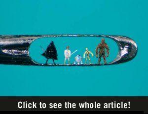 22 Miniature Sculptures - Wall to Watch