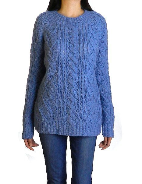 Amazon.com  Gerard Darel Women s Marilyn Monroe Cable Knit Jumper Sweater   Clothing 4925929d4148