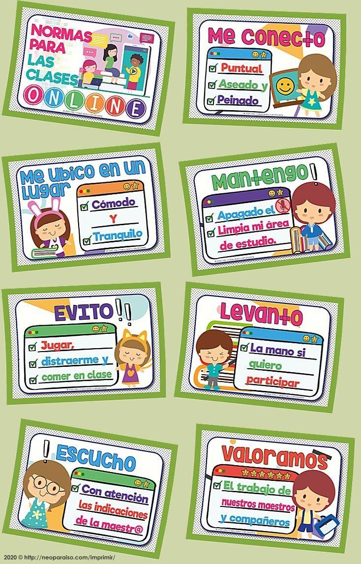 10 Ideas De Normas De Convivencia Normas De Convivencia Reglas De Clase Normas De Clase