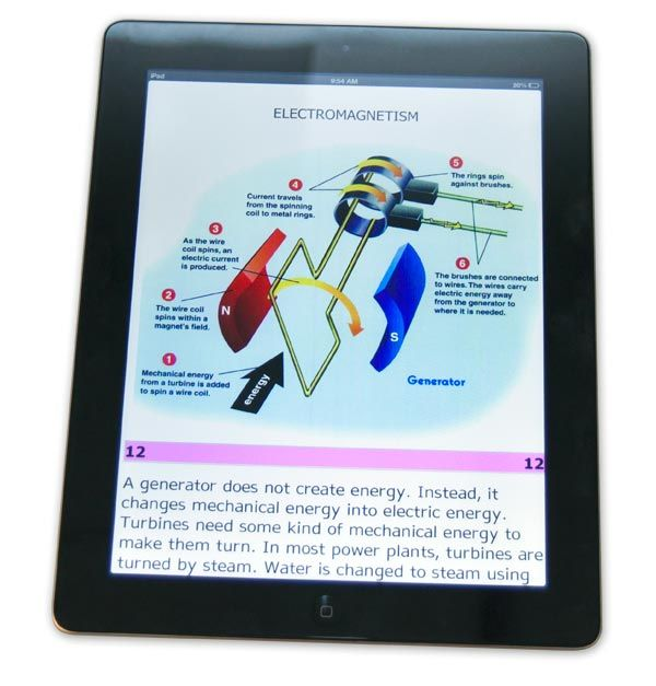 Aph Now Offers Electronic Textbooks Ipad Activities Textbook Visually Impaired Children