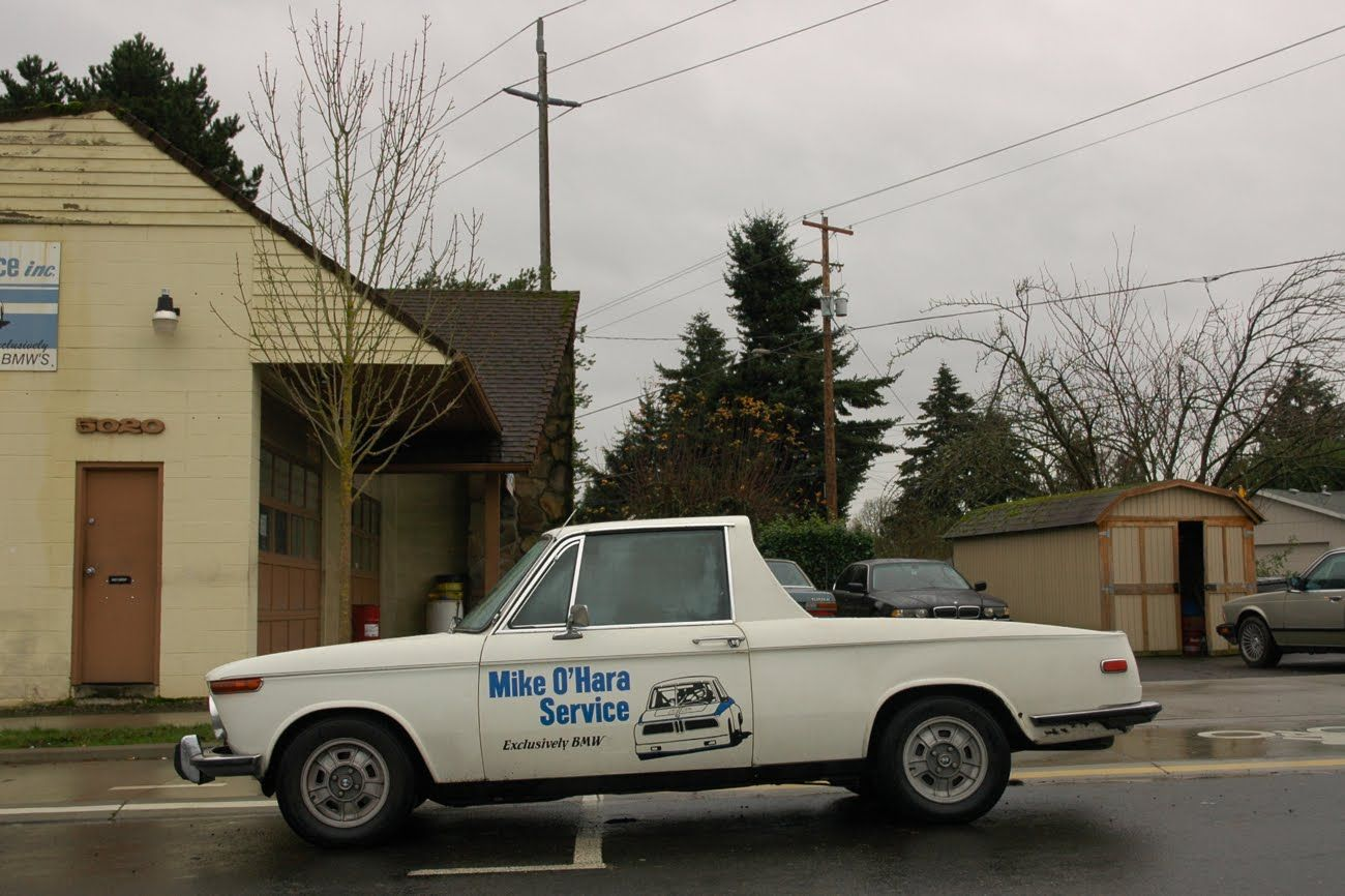 Old Parked Cars 1971 Bmw 2002 Pickup Truck Bmw 2002 Bmw