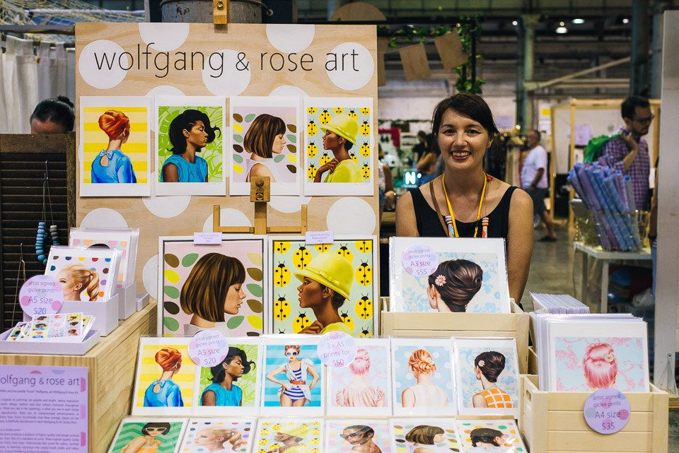 Image features Wolfgang Rose Art as captured by Dave Kan
