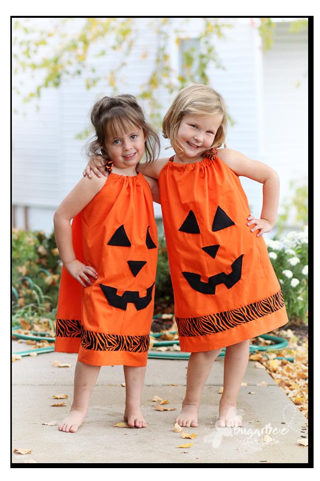 Pillowcase Halloween Dresses