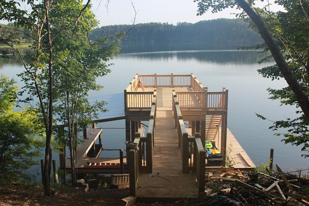 Image result for boat docks House boat, Boat dock, Boat