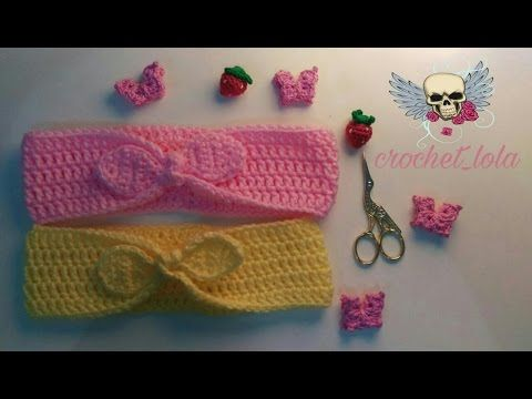ebc7ca6027 سمسم (9) كروشيه بندانة للشعر How to Crochet a Headband - YouTube ...