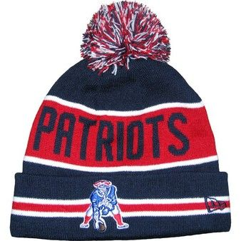 7348f2a4510ae Official New England Patriots ProShop - New Era Throwback The Coach Knit Hat