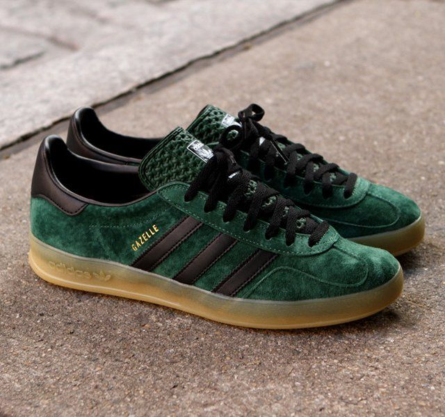 adidas gazelle indoor verde