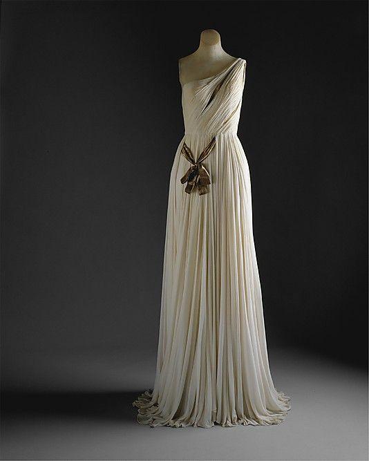 Evening dress ---- Attributed to Madame Grès (Alix Barton)  (French, Paris 1903–1993 Var region)