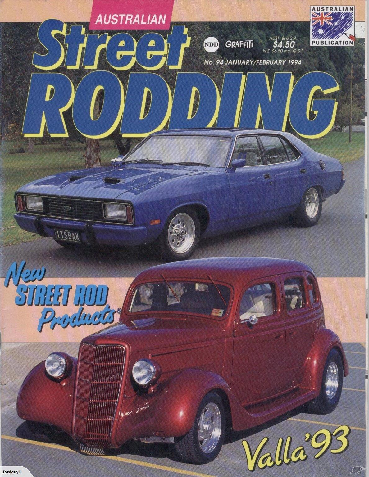 Australian Street Rodding No  94 Jan/Feb 1994 | Trade Me
