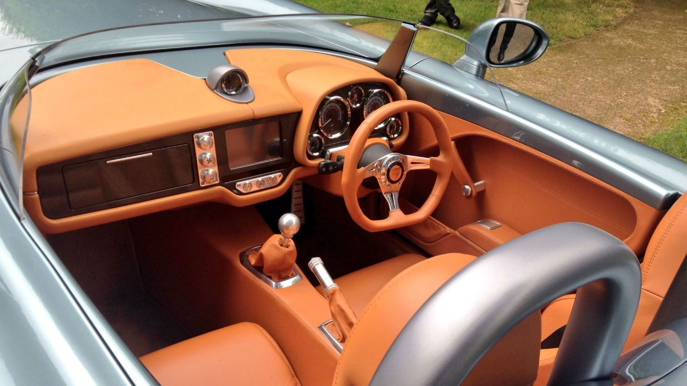 Bristol bullet interior car body design
