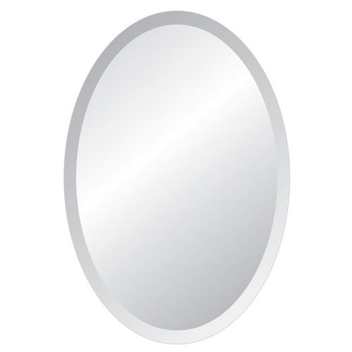 Spancraft Regency 24 X 36 Oval Beveled Edge Mirror 207 2436 Beveled Edge Mirror Lighted Wall Mirror Beveled Edge