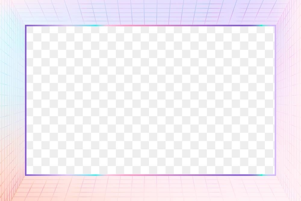Pastel 3d Png Grid Patterned Frame Transparent Background Free Image By Rawpixel Com Kappy Kappy Framed Abstract Retro Background Pastel Pattern