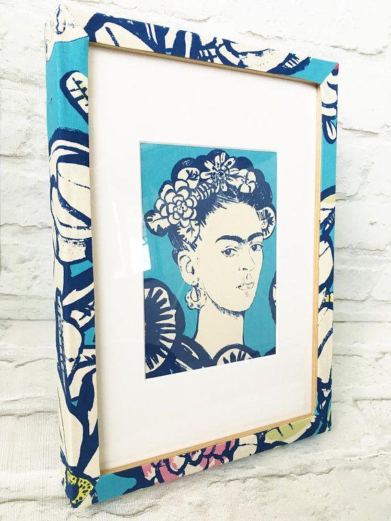 Frida Kahlo picture Frida Kahlo gift picture frame Frida | Vintage ...