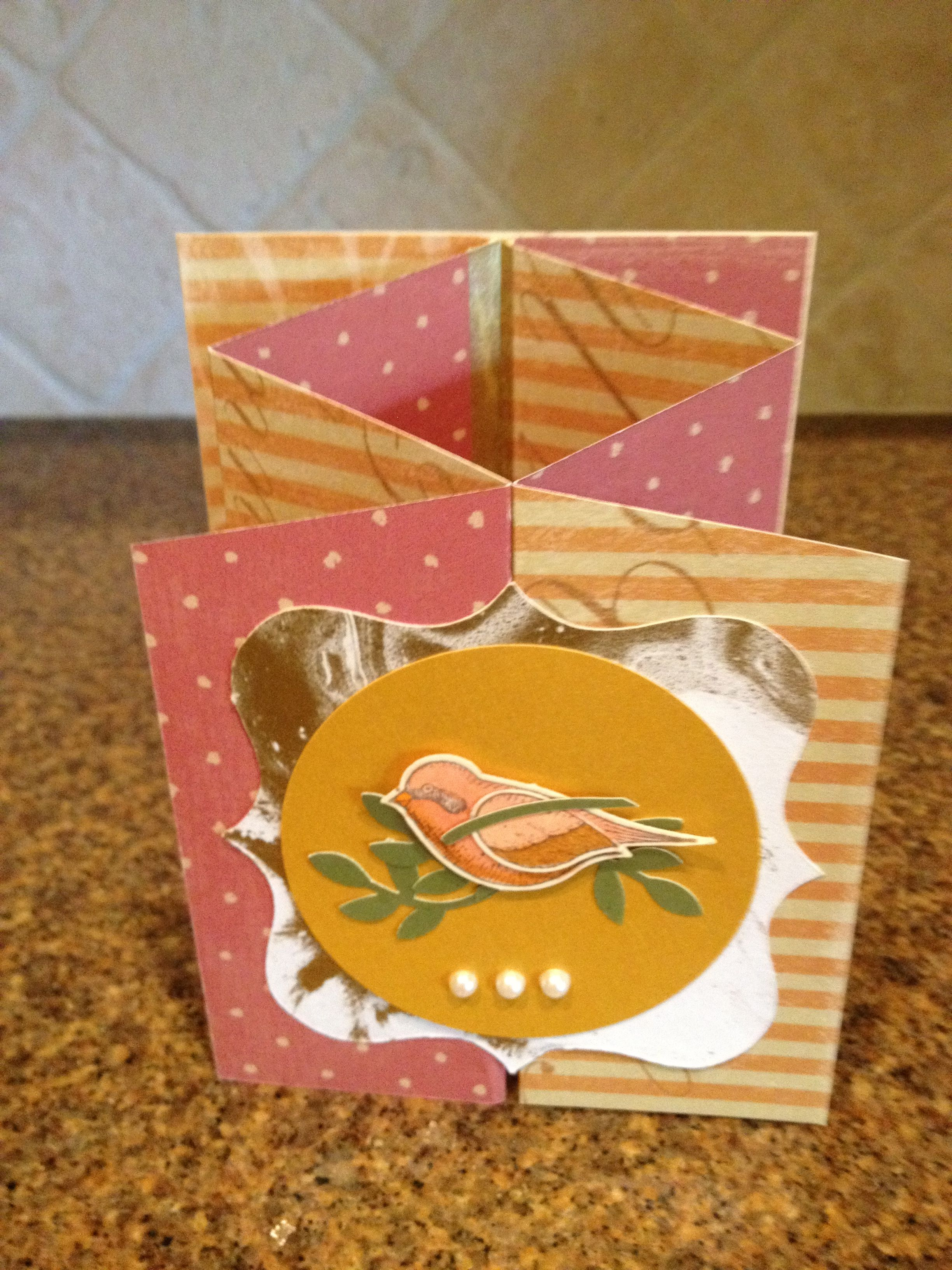 Accordion Fold Annalees Birthday Card By Candace Cubito Ccubito