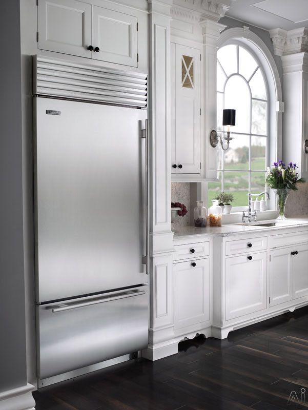 Sub Zero Bi36u 36 Built In Bottom Freezer Refrigerator With 3 Adjustable Spill Proof Glass Sh Home Kitchens Glass Door Refrigerator Outdoor Kitchen Appliances