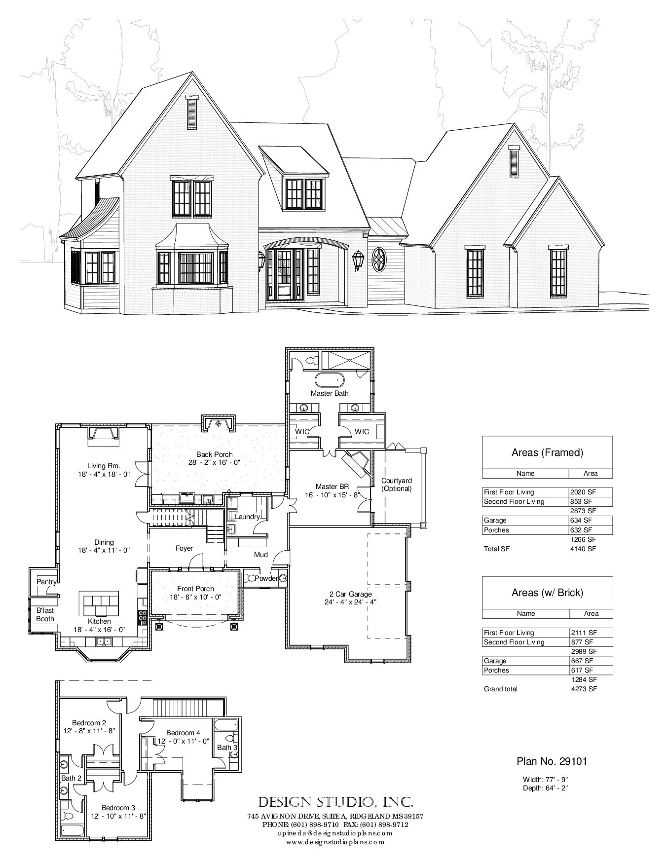 Love This Floorplan Would Change Exterior To Have More Farmhouse Feel Add Porches House Blueprints House Plans House Layouts