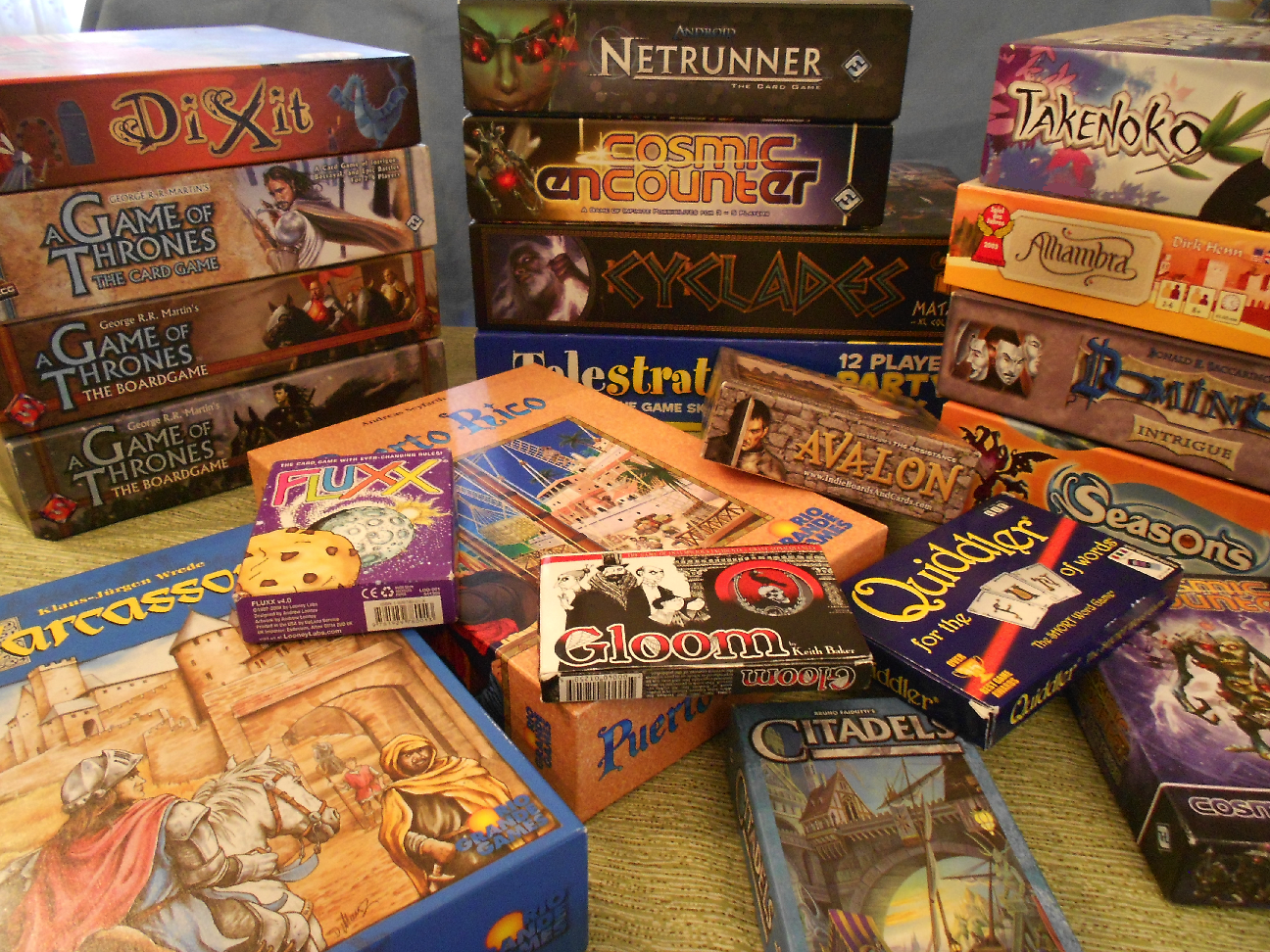Playing tabletop games - 10 Best Strategy Board Games For Kids And Adults