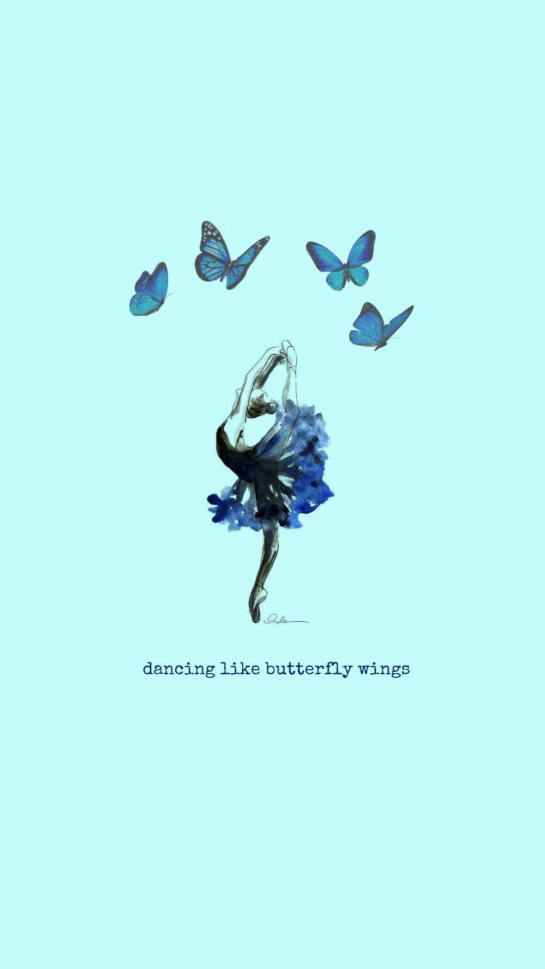 Wallpaper Ateez Dance Wallpaper Blue Butterfly Wallpaper Ballet Wallpaper