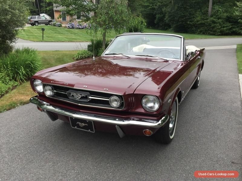 1966 Mustang Convertible For Sale Craigslist