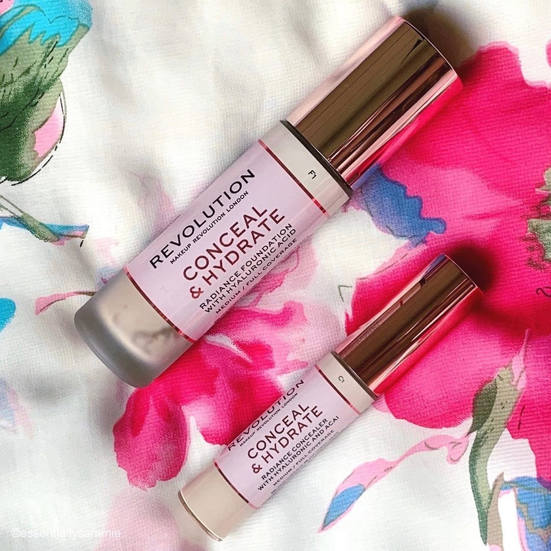 Makeup Revolution hydrate and concealer hydrating