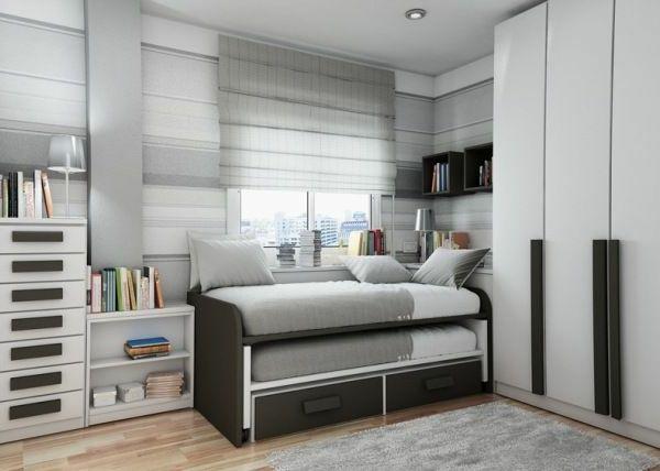 Gut Elegantes Jugendzimmer Mit Grauer Gestaltung