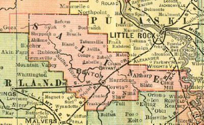 saline county arkansas map 93 Pages Of Saline County Arkansas History And Genealogy