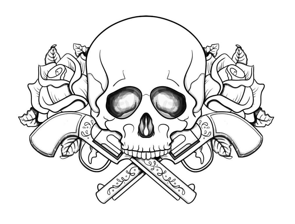 Pin By Sarah Toutou On Skulls Sugar Skulls Skull Coloring Pages Heart Coloring Pages Printable Coloring Pages