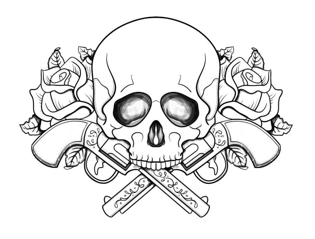 Skull Coloring Book Online