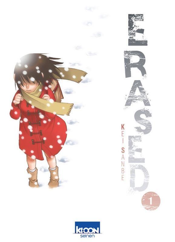 Erased T 1 Manga Tome Manga News